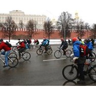 Второй по счету зимний велопарад пройдёт в Москве восьмого января