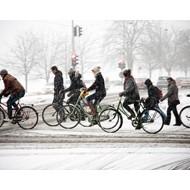 Несколько советов по езде на велосипеде зимой