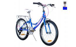 Велосипед 24' HARTMAN Alba PRO Disk р.13', 6 ск., рама алюм , белый сиреневый матовый