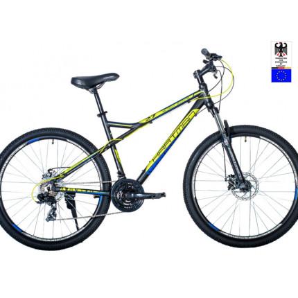 Горный велосипед 27,5' hartman black stone pro р.19' 21 скр.аллюм.сливовый красный матовый