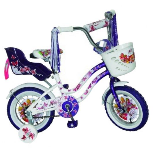 Детский велосипед 12' navigator winx фиолетовый