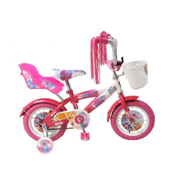 Детский велосипед 12' navigator winx розовый