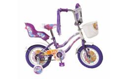 Детский велосипед 12' navigator winx фиолетовый вмз12075