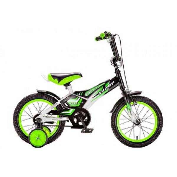 Детский велосипед 12' ва sharp kg1210 зелёный