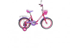 Велосипед 16' ВА Princess KG1602 розово-сиреневый (розовый)