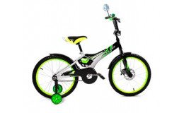 Велосипед 16' ВА Sharp KG1610 зелёный