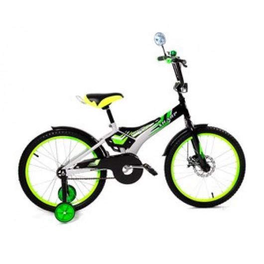 Детский велосипед 16' ва sharp kg1610 зелёный