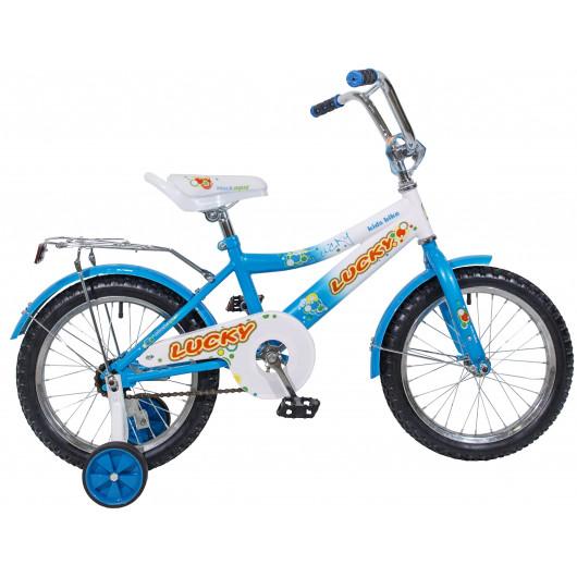 Детский велосипед 16' ва lucky kg1618 синий