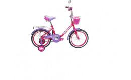 Велосипед 18' ВА Princess KG1802 розово-сиреневый (розовый)