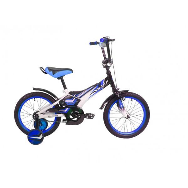 Детский велосипед 18' ва sharp kg1810 синий