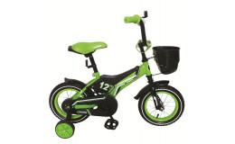 Велосипед 18' Nameless Cross черный/зеленый
