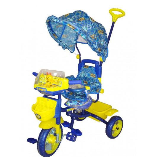 Велосипед трёхколёсный Би-би лайнер синий  108S-3АS (JKTR 010)