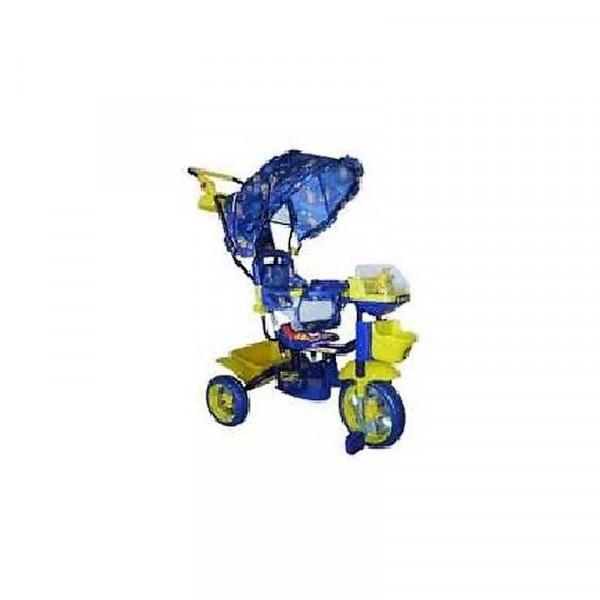 Велосипед трёхколёсный Би-би лайнер синий  108S-3NS (JKTR 013)