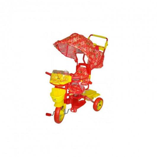 Велосипед трёхколёсный Би-би лайнер красный   108S-3NS (JKTR 014)