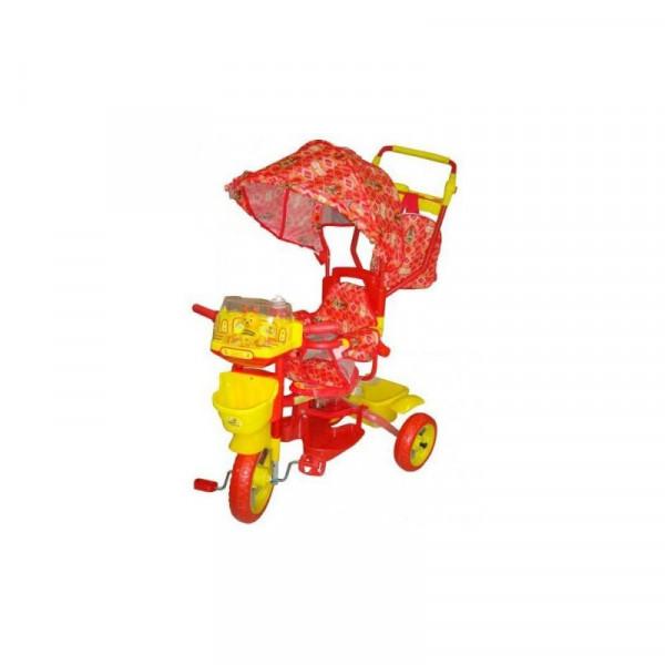 Велосипед трёхколёсный Би-би лайнер оранжевый 108S-3NS (JKTR 015)
