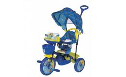 Велосипед трёхколёсный Би-би лайнер синий R107а-2а (JKTR 046)
