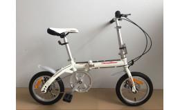 Велосипед 14 NAMELESS F014D СКЛАДНОЙ, STEEL, DISC, белый
