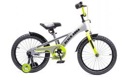 Велосипед 16' ВА Velorun KG1619 серо-лимонный