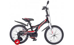 Велосипед 16' ВА Wave ВА 1601 черно-красный