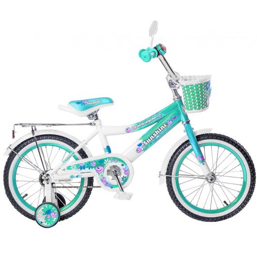 Детский велосипед 18' ва sunshine kg1822 бирюзовый
