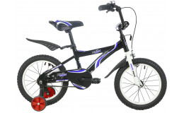 Велосипед 18' ВА Wave ВА 1801 черно-синий