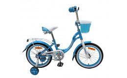 Велосипед 14' Nameless LADY, голубой/белый