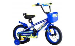 Велосипед 14' BIBITU TURBO, голубой