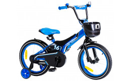 Велосипед 18' Nameless Cross голубой/черный