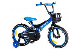 """Велосипед 20"""" Nameless Cross голубой/черный"""