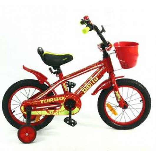 Детский велосипед 20' bibitu turbo, красный