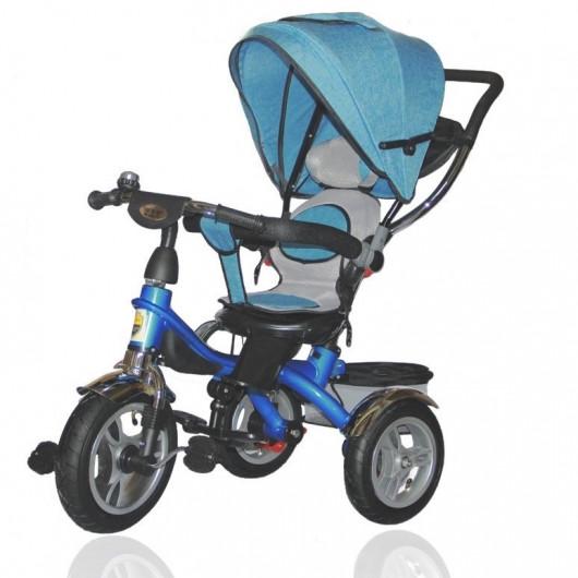 Велосипед трёхколёсный DUETTO 145320 синий