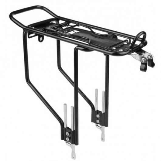 Багажник 24-28' алюминиевый черный с креплением под насос