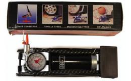 Насос ножной  с манометром с тонк . штоком арт.3273539