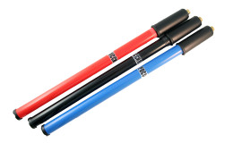 Насос ручной длинный пластик черн.,цветные 400мм