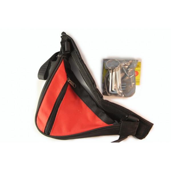 Сумка для инструментов треугольник 3 цвета+шестигранники