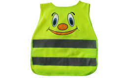Жилет детский светоотражающий защитный TS-C-03 yellow