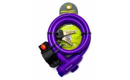 Велозамок арт. GC101.588 (12x1200) фиолетовый