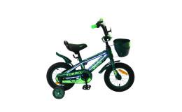 Детский велосипед 12' bibitu turbo, зеленый