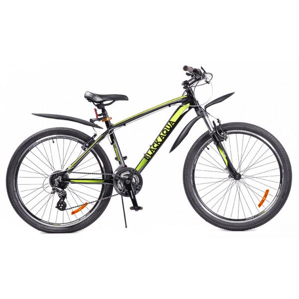 Горный велосипед 26' cross 2691 v gl-328v чёрно-лимонный