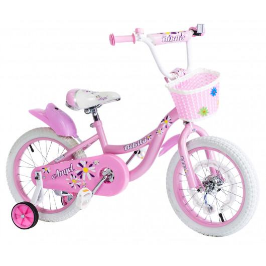 Детский велосипед 16' bibitu angel, розовый