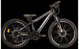 Горный велосипед 24' nameless j4100d, черный/ коричневый