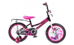 Велосипед 16' BA Girlybike HH-1606-T (черно-розовый)