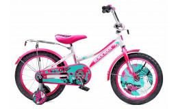 Велосипед 16' BA Girlybike HH-1606-T (бело-розовый)