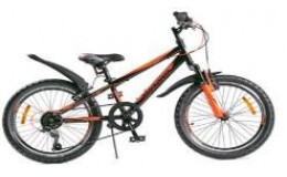 Велосипед BLACK AQUA Cross 1221 V 20