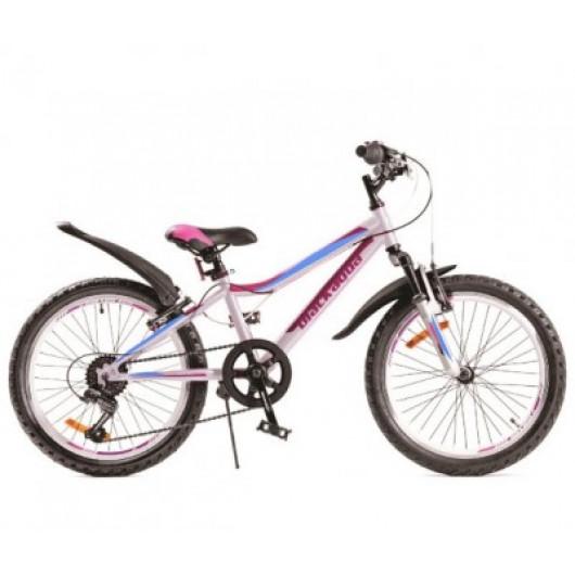 Горный велосипед 20' ва lady 1221 v белый gl-106v