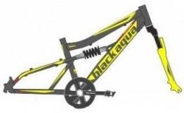 Велосипед BLACK AQUA Mount 1223 D matt 20