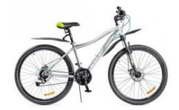 Велосипед 27,5' ВА BLACK AQUA Cross 2781 D matt 27,5' серо-белый GL-401D