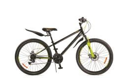 Велосипед 27,5' ВА Cross 2781 D matt черно-лимонный GL-401D