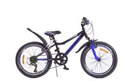 Велосипед 20' ВА Cross 1201 V черно-синий GL-102V