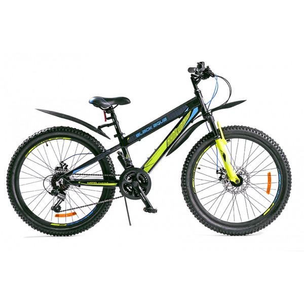 Горный велосипед 24' ва cross 2481 v matt черно-синий gl-214d